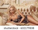 beautiful alluring blond woman