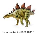 stegosaurus  genus of armored... | Shutterstock . vector #632218118