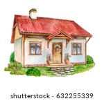 House  Cottage With Lawn...