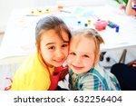 art lesson in kindergarten   Shutterstock . vector #632256404