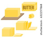 butter in various types  icons  ... | Shutterstock .eps vector #632257868