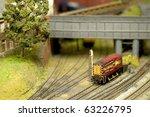 Model Train Set Freight...