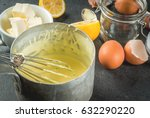 traditional basic sauces.... | Shutterstock . vector #632290220