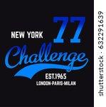 milan  new york  paris  london... | Shutterstock .eps vector #632291639