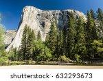 El Capitan Granite Rock Seen...