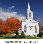traditional american white... | Shutterstock . vector #63234337