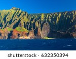 Cliffs Of The Hawaiian Na Pali...