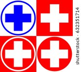 medical cross. set of medical...