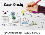 information case study research ... | Shutterstock . vector #632352479