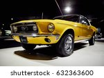 ford mustang  an american... | Shutterstock . vector #632363600