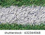 artificial green grass  with... | Shutterstock . vector #632364068