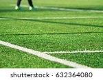 artificial green grass  with... | Shutterstock . vector #632364080