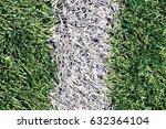artificial green grass  with... | Shutterstock . vector #632364104