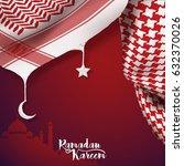 ramadan kareem islamic vector... | Shutterstock .eps vector #632370026