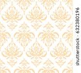 elegant seamless pattern with...   Shutterstock .eps vector #632380196