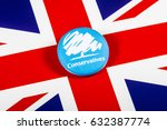 london  uk   may 2nd 2017  a... | Shutterstock . vector #632387774
