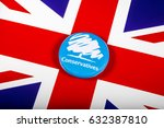 london  uk   may 2nd 2017  a... | Shutterstock . vector #632387810