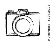 photographic camera icon | Shutterstock .eps vector #632415176
