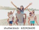 outdoors photo of happy... | Shutterstock . vector #632426630