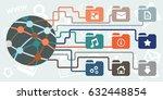 vector illustration for digital ... | Shutterstock .eps vector #632448854