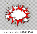 comic bubble speeches. excuse... | Shutterstock .eps vector #632465564