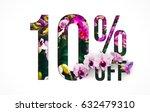 brilliant promotion sale poster ... | Shutterstock . vector #632479310