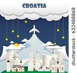 croatia travel background...