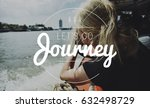 getaway to the unknown... | Shutterstock . vector #632498729
