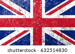 grunge flag of the united...   Shutterstock .eps vector #632514830