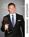 Small photo of LOS ANGELES - APR 30: Steve Burton, Best Supporting Actor for The Young and The Restless in the 44th Daytime Emmy Awards Press Room at the Pasadena Civic Auditorium on April 30, 2017 in Pasadena, CA