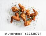 Fried Chicken Wings With Fresh...