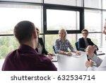business team meeting in modern ...   Shutterstock . vector #632534714