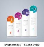 infographics design vector and... | Shutterstock .eps vector #632553989