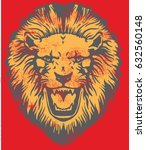 a lion | Shutterstock .eps vector #632560148