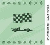 race car icon. | Shutterstock .eps vector #632570486
