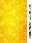 light orange christmas polygon... | Shutterstock . vector #632583620