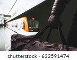 terrorist in subway. suspicious ...   Shutterstock . vector #632591474