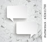 abstract background with white... | Shutterstock .eps vector #632611700