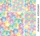 vivid colorful repeating...   Shutterstock .eps vector #63261664