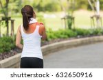 neck pain during training.... | Shutterstock . vector #632650916