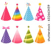 Birthday Party Hats Set