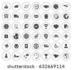shipping icons   Shutterstock .eps vector #632669114