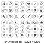 tools icons | Shutterstock .eps vector #632674208