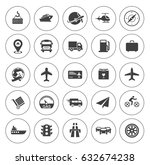 transport icons | Shutterstock .eps vector #632674238