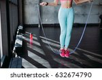 fitness concept. healthy... | Shutterstock . vector #632674790