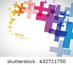 abstract background created... | Shutterstock .eps vector #632711750