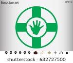 lifebuoy  icon  vector... | Shutterstock .eps vector #632727500