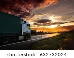 truck on the road | Shutterstock . vector #632732024