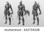 digital illustration of fantasy ...   Shutterstock . vector #632734238