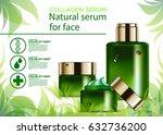 collagen  beauty  natural ... | Shutterstock .eps vector #632736200